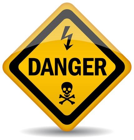 10428472 - danger warning sign